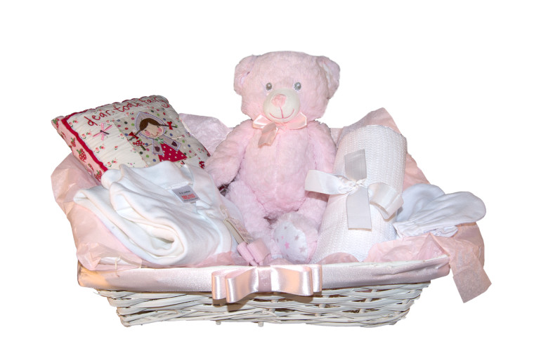 My First Tooth Girl Pink Hamper Happynest